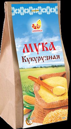 Мука кукурузная, 300г, Дивинка - фото 17492