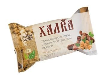 Халва с грецким орехом, 150г, Семейный самовар - фото 17531