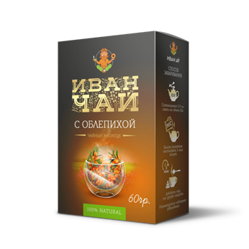 Иван-чай Облепиха, 60г, Иван да - фото 17661