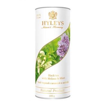 Чай черный с мелиссой и мятой, 100г, Hyleys - фото 17898