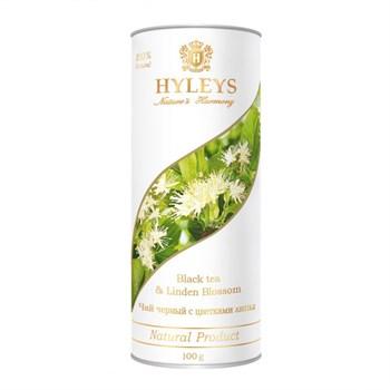 Чай черный с липой, 100г, Hyleys - фото 17902