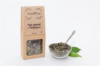 Чай черный с чабрецом, 75г, Алтай сила - фото 18001