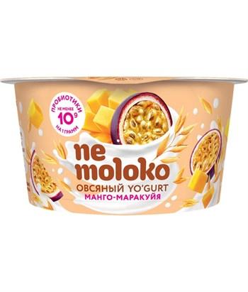 Йогурт овсяный Манго-маракуйя, 130г, Немолоко - фото 18025