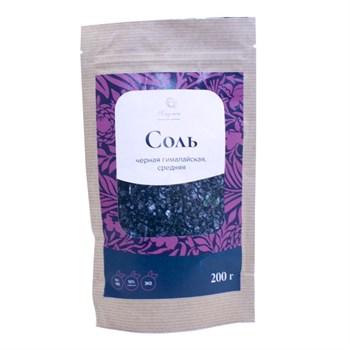 Соль гималайская черная, 200г, Хаумея - фото 18039