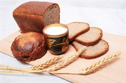 Хлеб бездрожжевой Дарницкий, 350г, Монастырский двор