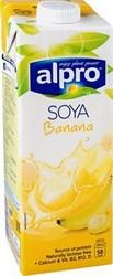 Напиток соевый банановый, 1л, Alpro