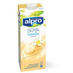 Напиток соевый ванильный, 1л, Alpro