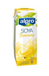 Напиток соевый банановый, 250мл, Alpro