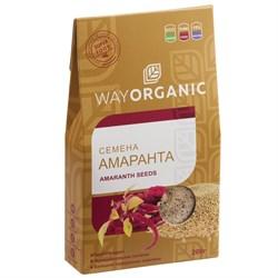 Семена амаранта, 200г, Way Organic