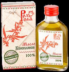 Масло конопляное, 100мл, Радоград