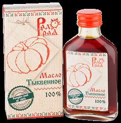 Масло тыквенное, 100мл, Радоград
