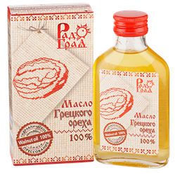 Масло грецкого ореха, 100мл, Радоград