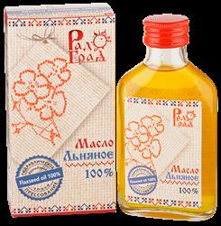 Масло льняное, 100мл, Радоград