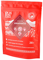 Семена амаранта, 200г, Радоград