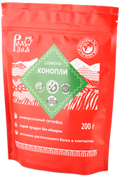 Семена конопли, 200г, Радоград