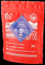 Семена льна коричневые, 200г, Радоград