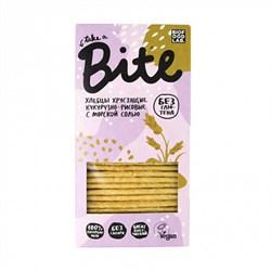 Хлебцы кукурузно-рисовые с солью, 150г, Байт