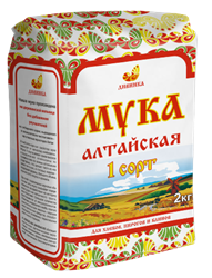 Мука пшеничная 1 сорт, 2кг, Дивинка