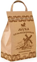 Мука пшеничная обойная ц/з, 4,1кг, Дивинка