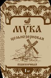 Мука пшеничная обойная ц/з, 1кг, Дивинка