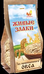 Каша Живые злаки из пророщенного овса, 300г, Дивинка