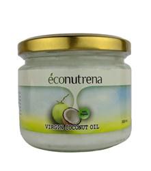 Масло кокосовое органическое, 300мл, Econutrena