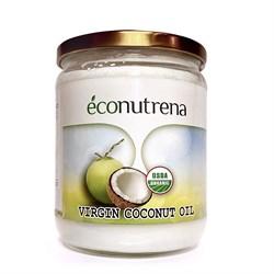 Масло кокосовое органическое, 500мл, Econutrena