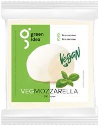 Сыр веганский Моцарелла, 200г. GreenIdea