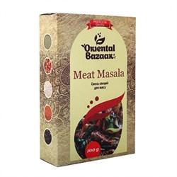 Смесь специй для мяса Meat masala, 100 г, Шри Ганга