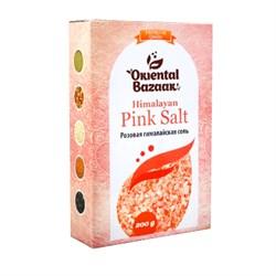 Соль розовая гималайская Oriental Bazaar, 200г