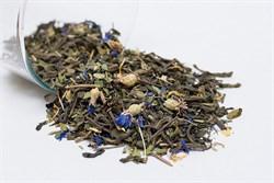 Чай зеленый с иван-чаем, мелиссой, васильком и календулой, 75г, Алтай сила