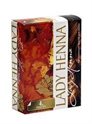 Краска для волос Каштановая на основе хны, 6*10г, Ааша