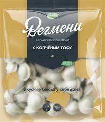 Вегмени с копченым тофу, 450г