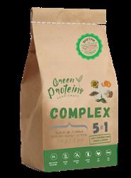 Комплекс белков 5в1, 900г, Green protein