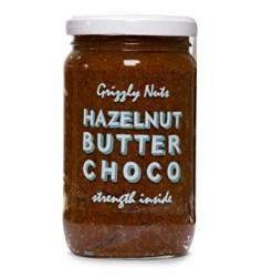Фундучная паста шоколадно-медовая, 370г, Grizzly nuts