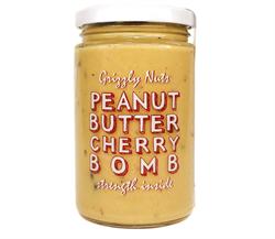 Арахисовая паста с вяленой вишней Cherry bomb, 370г, Grizzly nuts