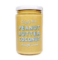 Арахисовая паста с кокосом Coconut, 370г, Grizzly nuts