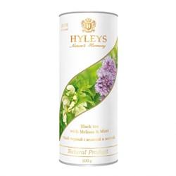 Чай черный с мелиссой и мятой, 100г, Hyleys