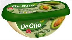 Крем De olio базилик с оливковым маслом 72,5%, 220г, Эфко