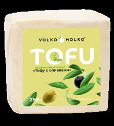 Тофу с оливками, 250г, ВолкоМолко