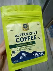 Финиковый кофе с добавлением арабики, 90г, Алтибар